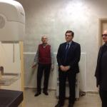 12/04/2014 - Castel di Sangro, l' On. Patriciello visita il SANGRO HEALTH SYSTEM