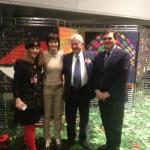 14 gennaio 2014 - Europa ed arte: Patriciello presenta a Strasburgo l\'artista Giulia Di Filippi