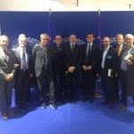 19/04/2016 Bruxelles, visita delegazione Campania