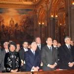 21 marzo 2007 – CASSINO (FR) Abbazia di Montecassino - Commemorazione in occasione della Festa di San Benedetto, Patrono d'Europa