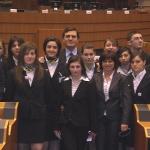 4 marzo 2008 - Visita a Bruxelles istituto Le Streghe (Benevento)