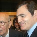 Incontro con il Presidente Napolitano al Parlamento europeo