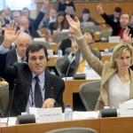 Votazione Commissione ITRE rapporto dell ON. Patriciello sulla politica spaziale europea.